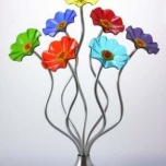 Bouquet - Large Prism  (Silver Base)