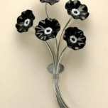 Black & White Wall Bouquet